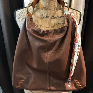 Lucky Brand Whip Stitch Hobo No stain or damage